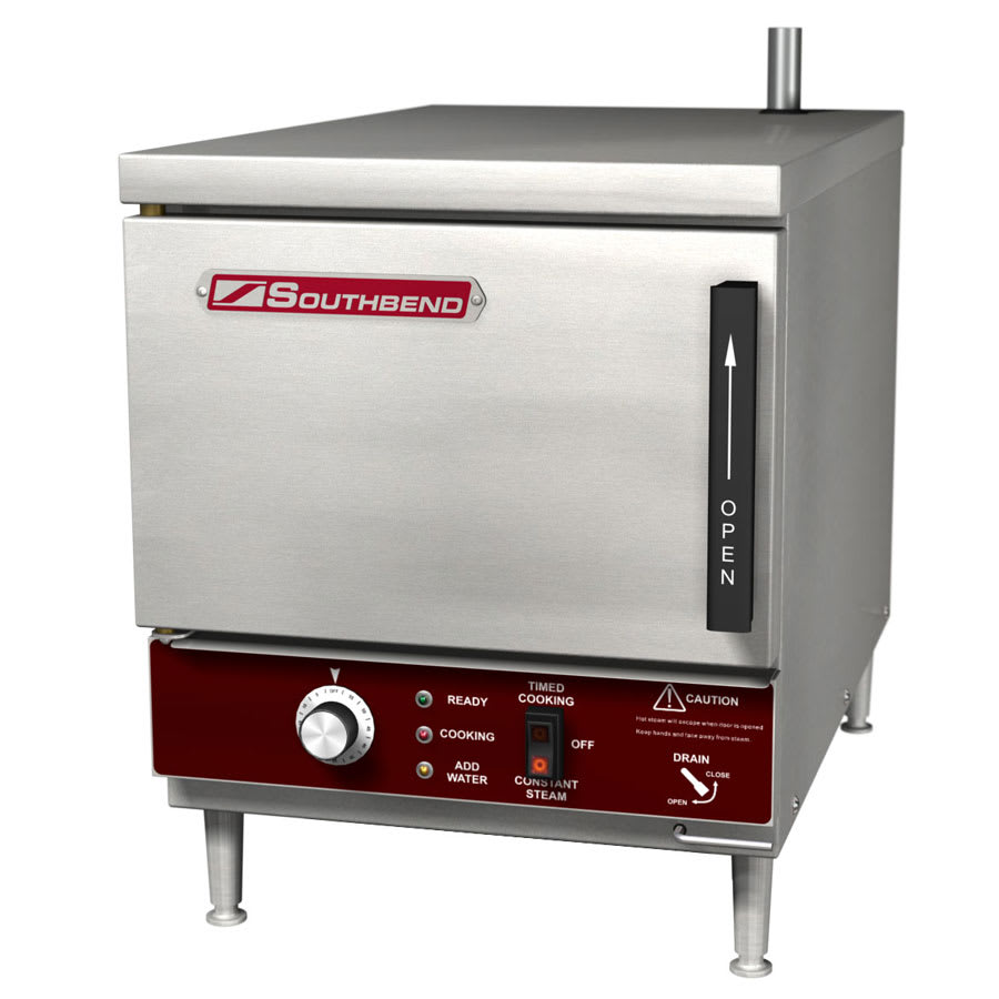 Southbend EZ18-3 Electric Countertop Steamer w/ (3) Full Size Pan Capacity, 240v/1ph