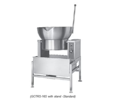 Southbend GCTRS-16 16-gal Countertop One-Piece Tilting Skillet, Stainless, NG