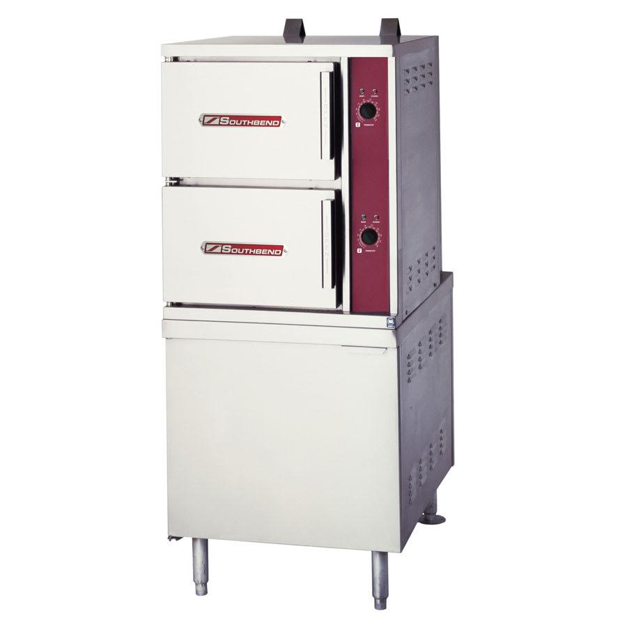 Southbend GCX-10S-6-10 Gas Floor Model Steamer w/ (10) Full Size Pan Capacity, LP