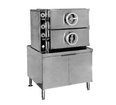 Southbend GDA-2S Gas Pressure Steamer w/ (16) Full Size Pan Capacity, LP
