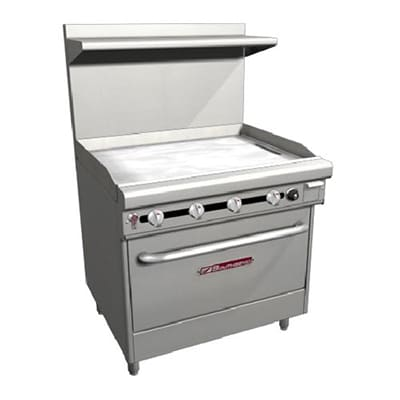 "Southbend H436D-3T 36"" Gas Range with Griddle, LP"