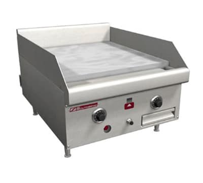 """Southbend HDG-18-M 18"""" Gas Griddle - Manual, 1"""" Steel Plate, LP"""