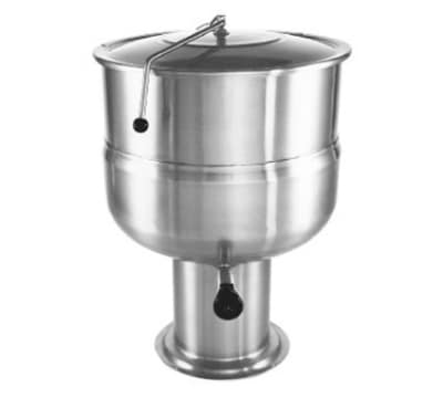 Southbend KDPS-80F 80 gal Stationary Kettle, Pedestal, Hinged Cover, Full-Jacket