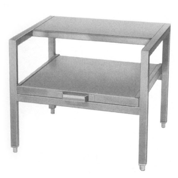 """Southbend KEDC-30 30"""" x 21"""" Stationary Equipment Stand for Kettles, Open Base"""