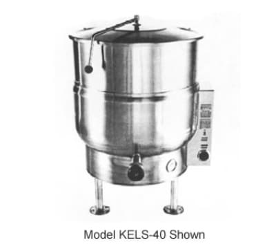 Southbend KELS-40 40 gal Stationary Kettle, Thermostatic Control, 2/3 Jacket, 208v/3ph