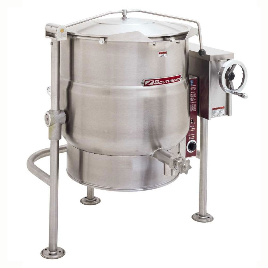 Southbend KELT-30 30 gal Tilting Kettle, Thermostatic Control, 2/3 Jacket, 208v/1ph