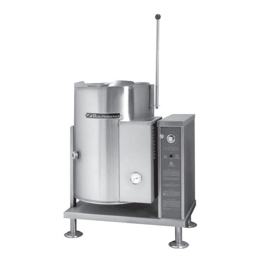 Southbend KGCT-12 12 gal Table Top Tilt-Type Kettle, Full Jacket, LP