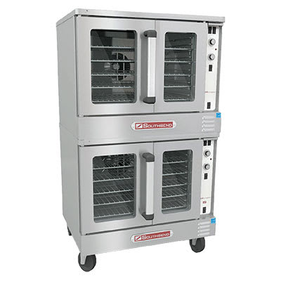"""Southbend KLGS/27SC 72"""" Convection Oven - Manual, 1"""" Steel Plate, NG"""