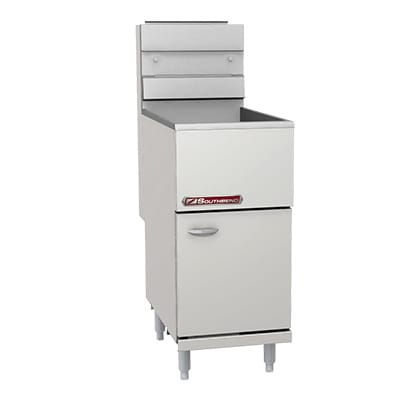 Southbend SB35S Gas Fryer - (1) 40 lb. Vat, Floor Model, NG
