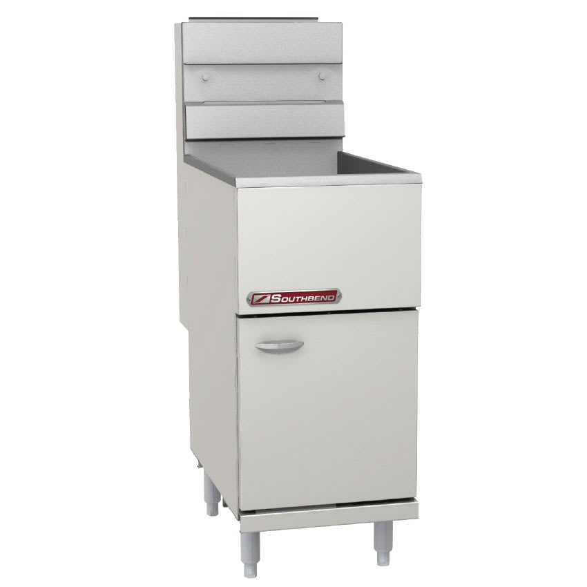 Southbend SB45S Gas Fryer - (1) 50 lb. Vat, Floor Model, NG