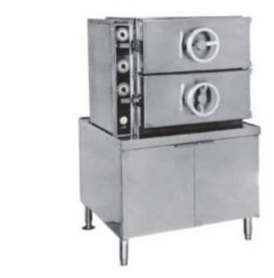 Southbend SC-2S Steam Coil Pressure Steamer w/ (16) Full Size Pan Capacity, 115v