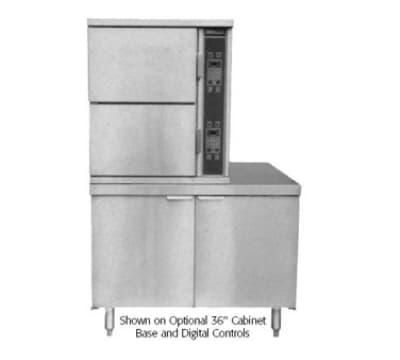 Southbend SCX-2S-36 Steam Coil Floor Model Steamer w/ (6) Full Size Pan Capacity, 120v