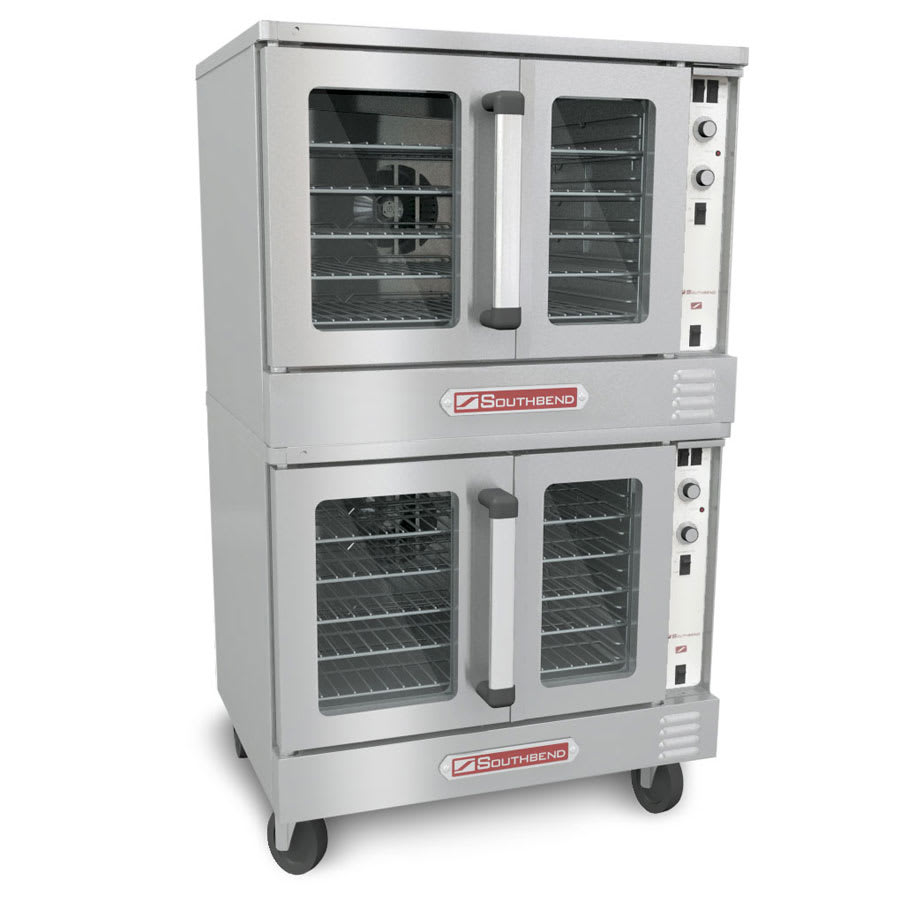 Southbend SLES/20CCH Double Full Size Electric Convection Oven - 208v/1ph