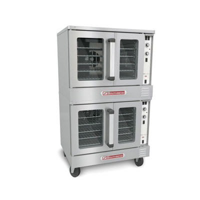 Southbend SLES/20SC SilverStar Double Full Size Electric Convection Oven - 12kW, 220v/1ph
