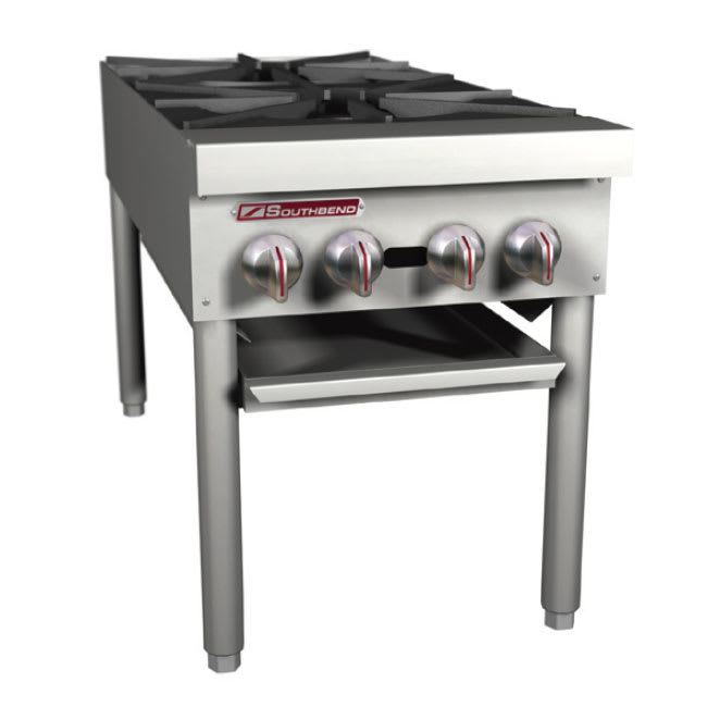 Southbend SPR-2J-FB 2-Burner Stock Pot Range, LP