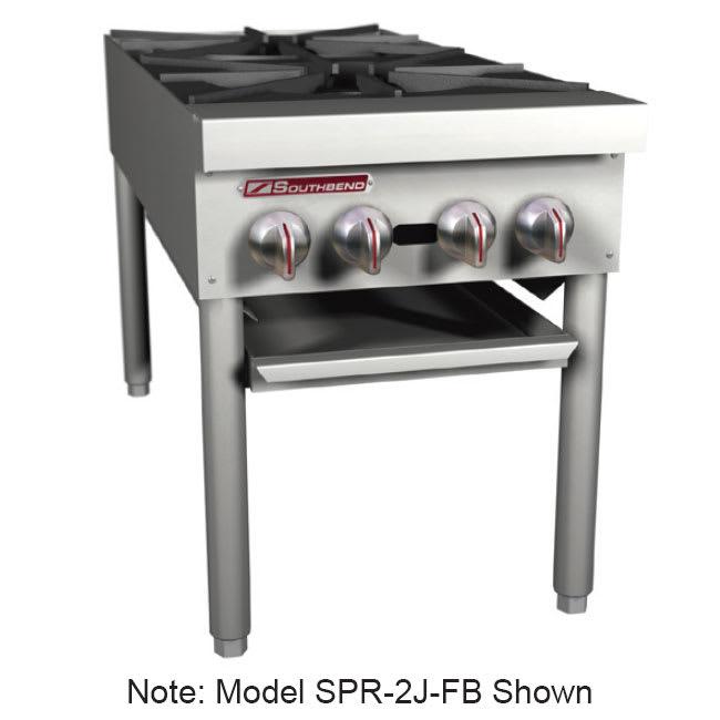 Southbend SPR-2J 2 Burner Stock Pot Range, NG