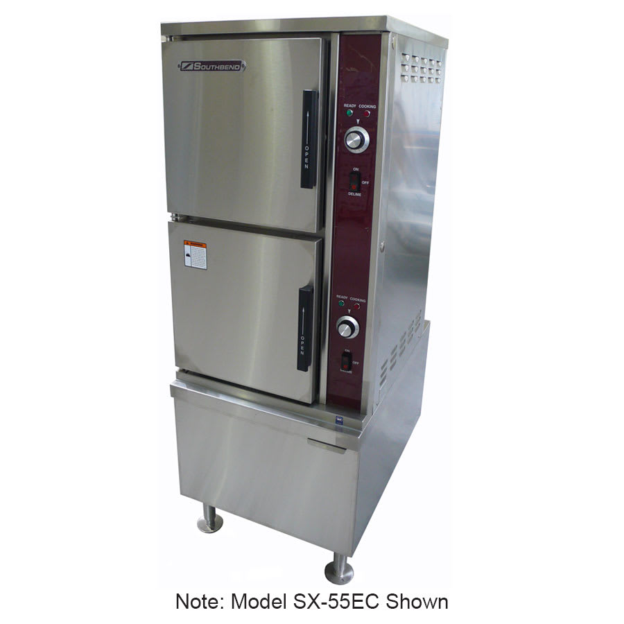 Southbend SX-34EC Electric Floor Model Steamer w/ (7) Full Size Pan Capacity, 220v/3ph