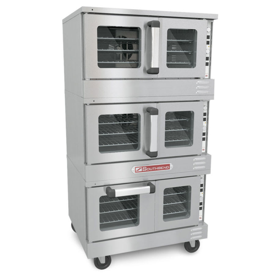 Southbend TVGS/32SC Triple Full Size Gas Convection Oven - LP