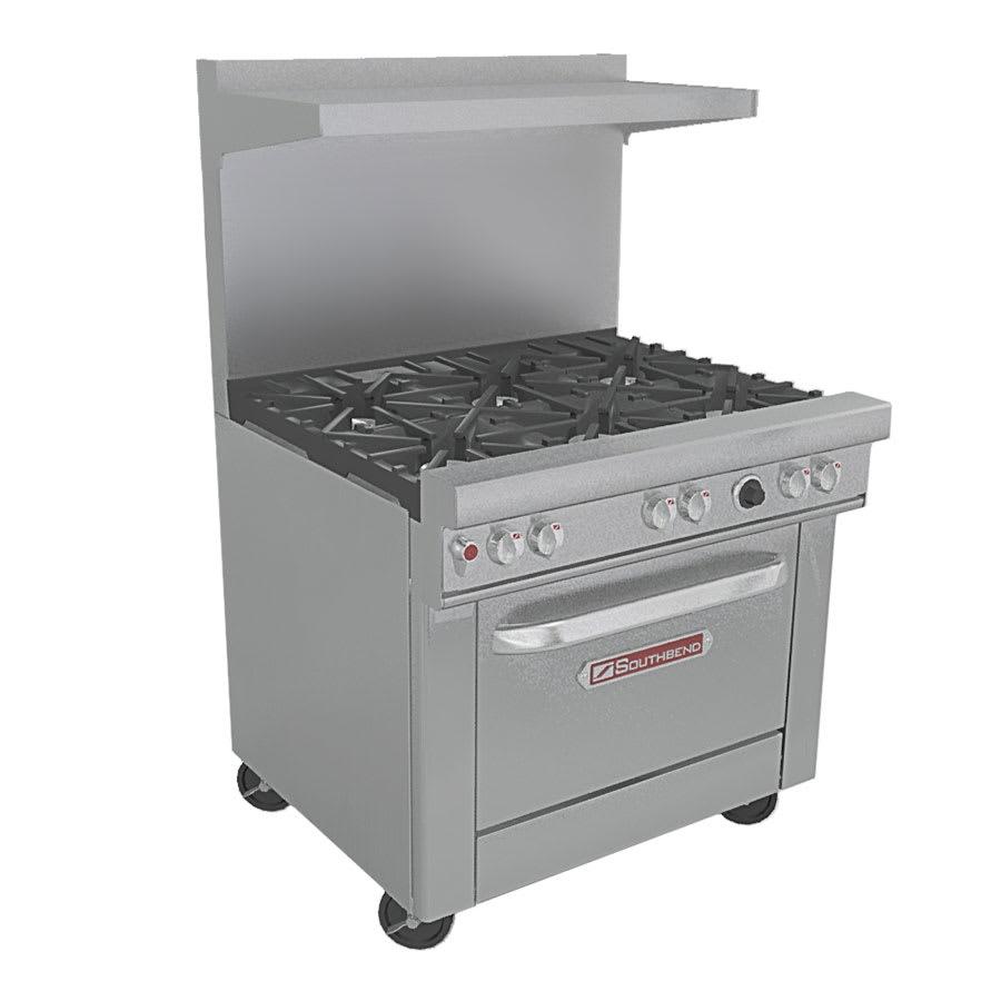 """Southbend X-4361D 36"""" 6-Burner Gas Range w/ Standard Oven, NG"""
