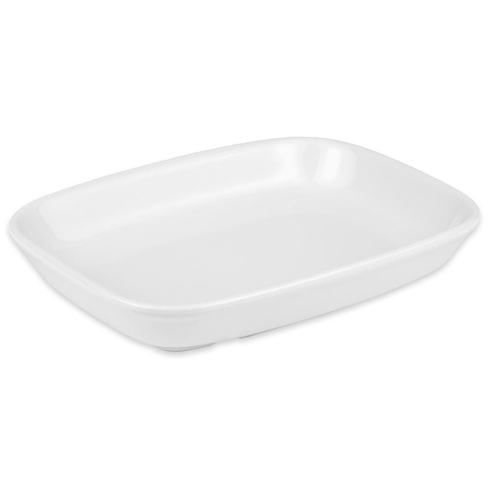 "Hall China 17310ABWA Rectangular Service Tray, 7.5"" x 5.5"", White"