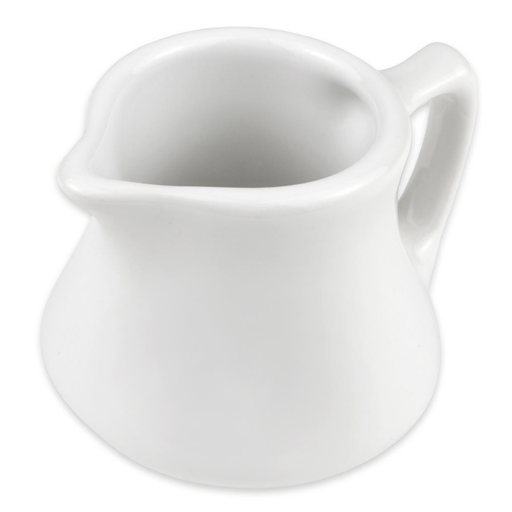 Hall China 1950ABWA 3.5-oz Creamer, Empire, White