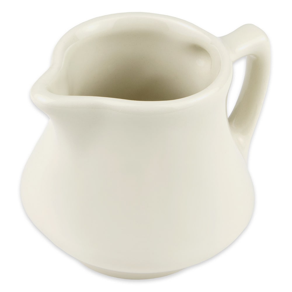 Hall China 1960AWHA 6-oz Creamer, Empire, White