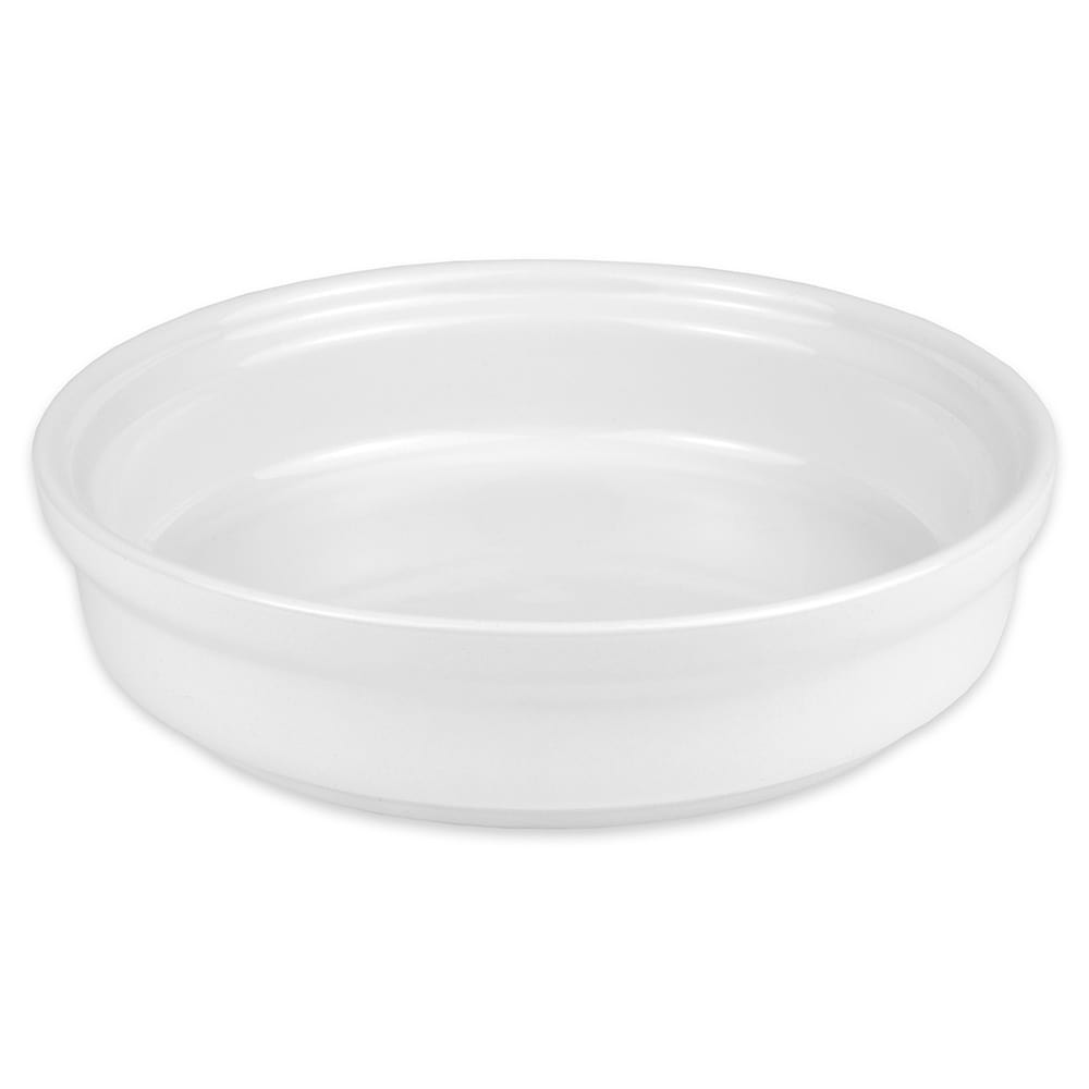 Hall China 21560BBWA 32 oz Round China Casserole Dish, White