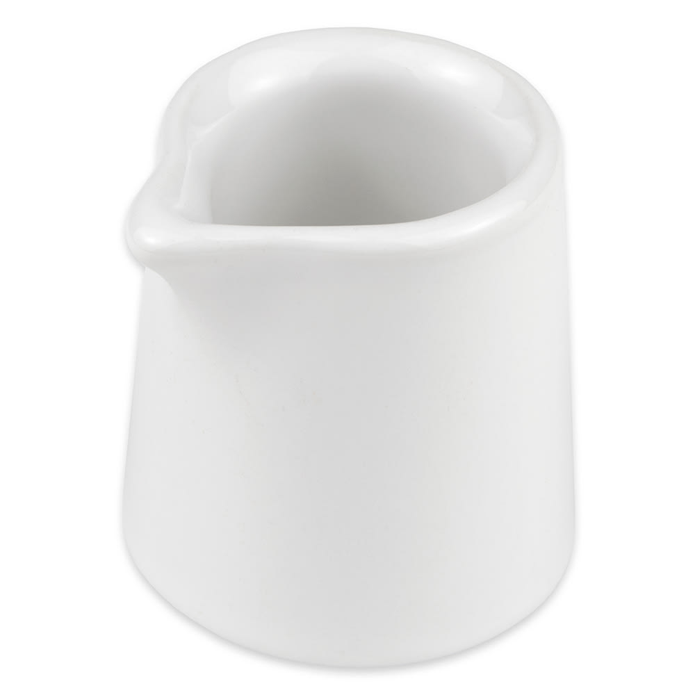 Hall China 3761/22ABWA 2 oz Tankard Creamer, White