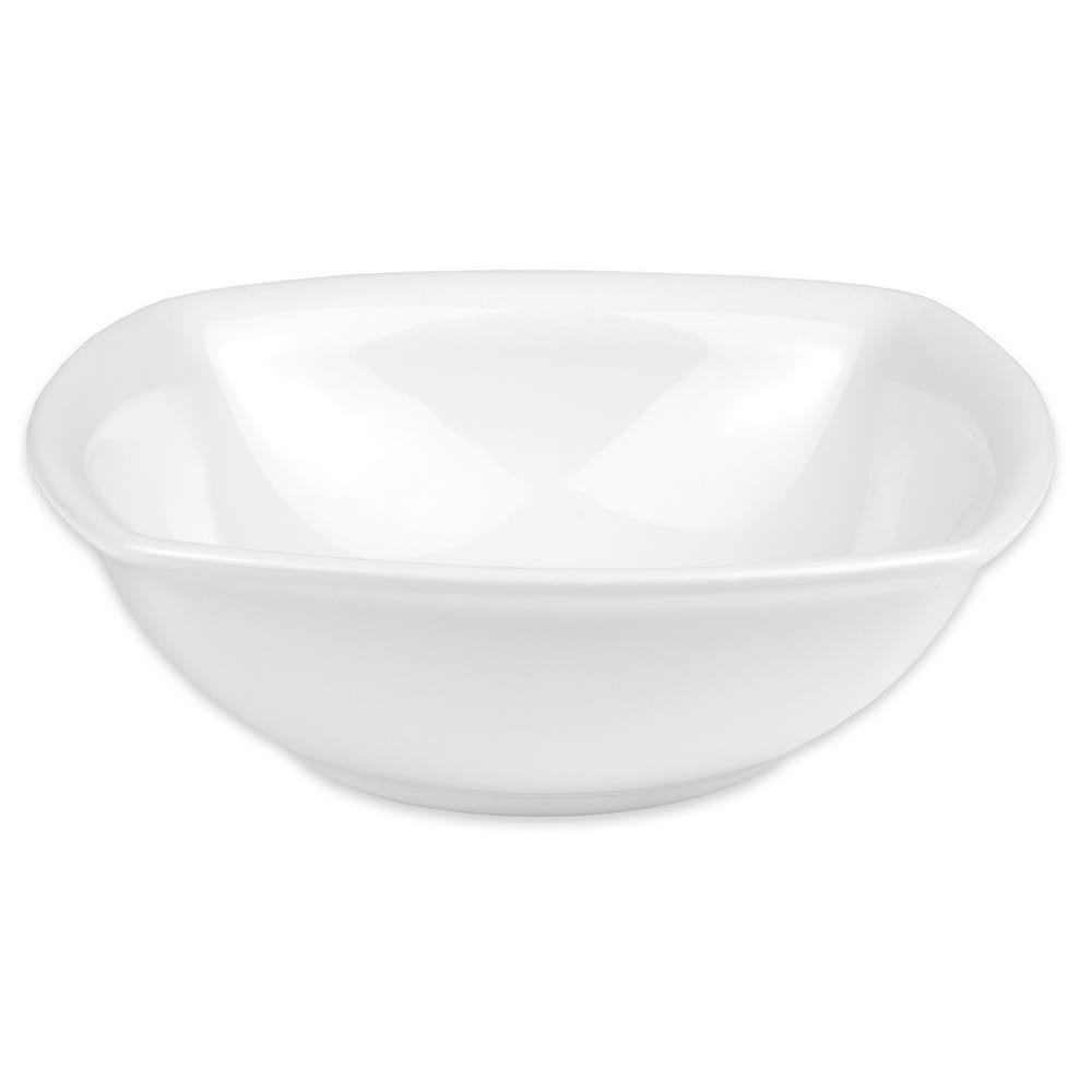 "Hall China 44650ABWA 6.5"" Square Bowl w/ 18 oz Capacity, White"