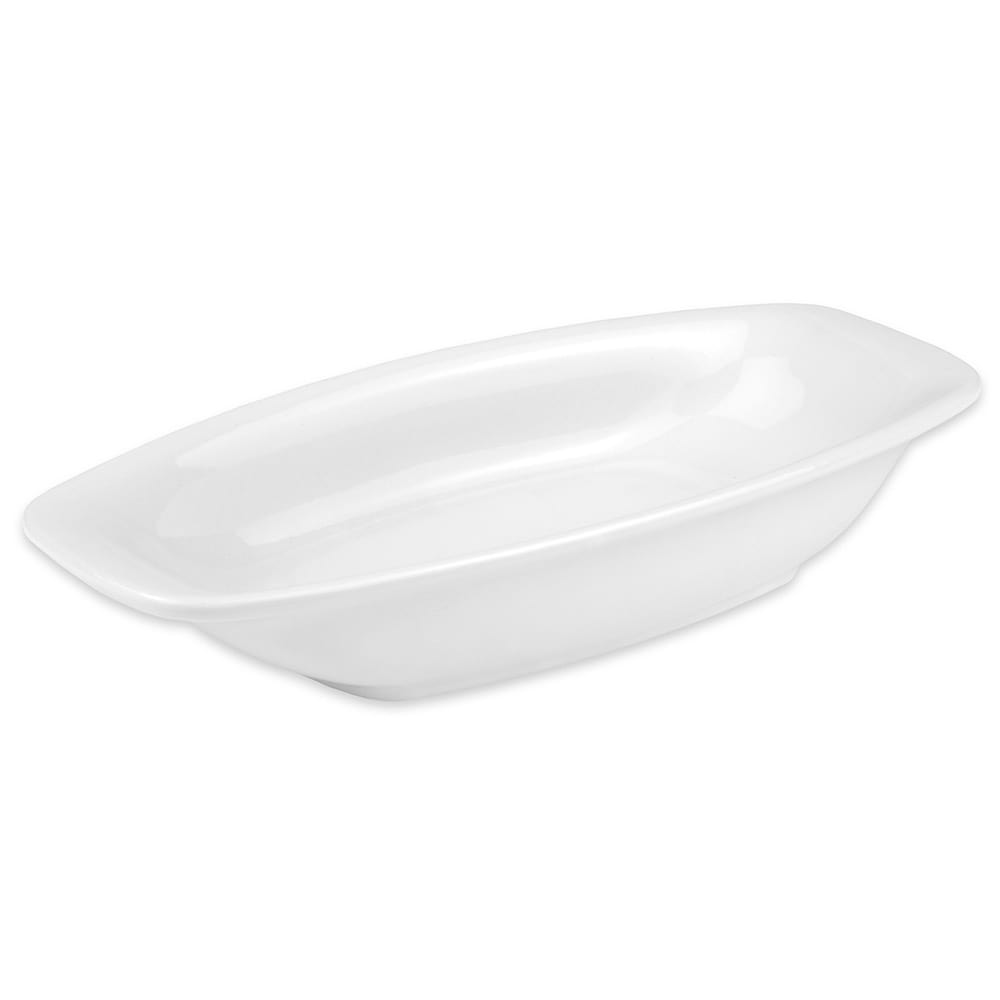 "Hall China 44680ABWA Oval Baking Dish w/ 8-oz Capacity, 8.375"" x 1.5"", White"