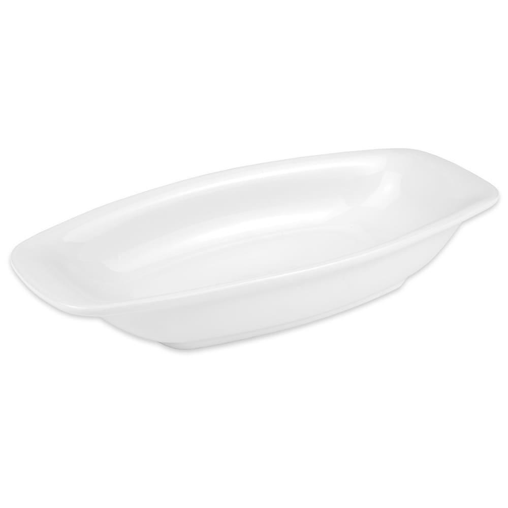 "Hall China 44690ABWA Oval Baking Dish w/ 12 oz Capacity, 9.25"" x 4.4375"", White"