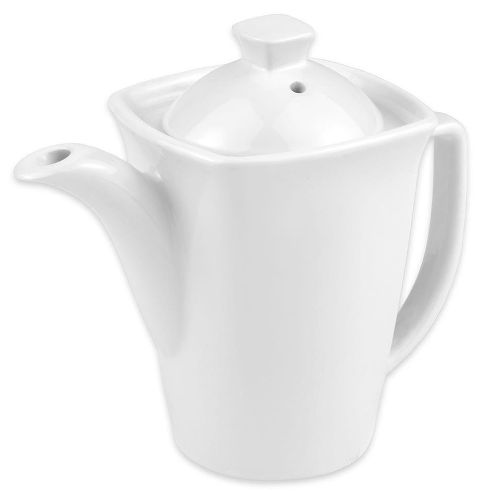 "Hall China 44770ABWA Teapot w/ 16 oz Capacity, 6.875"" x 3.8125"", White"
