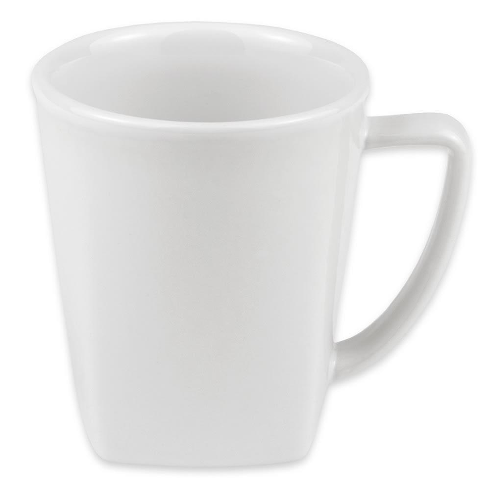 """Hall China 44780ABWA 3.5625"""" Round Mug w/ 12 oz Capacity, White"""