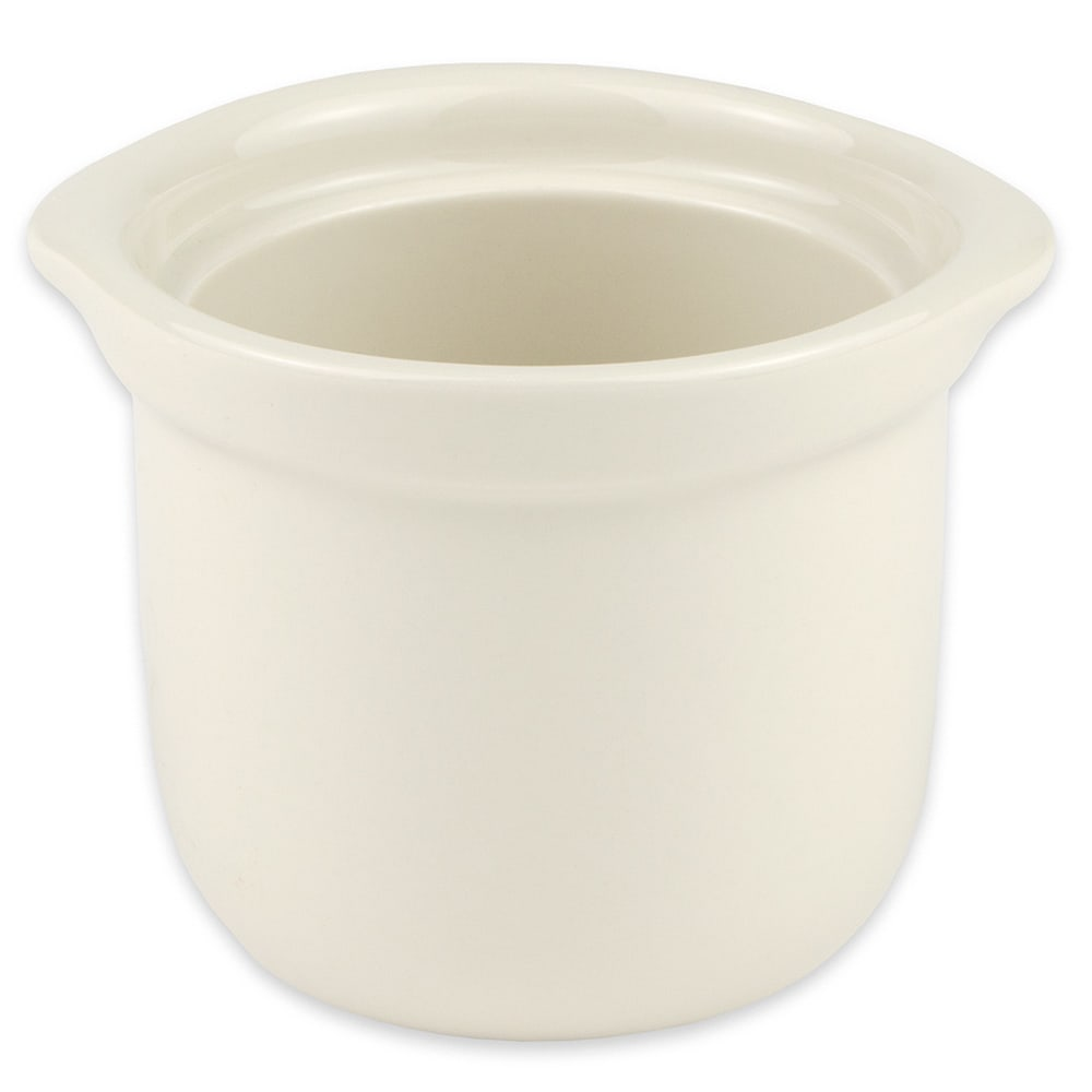 "Hall China 4710BWHA 4.125"" Round Soup Bowl w/ 12-oz Capacity, White"