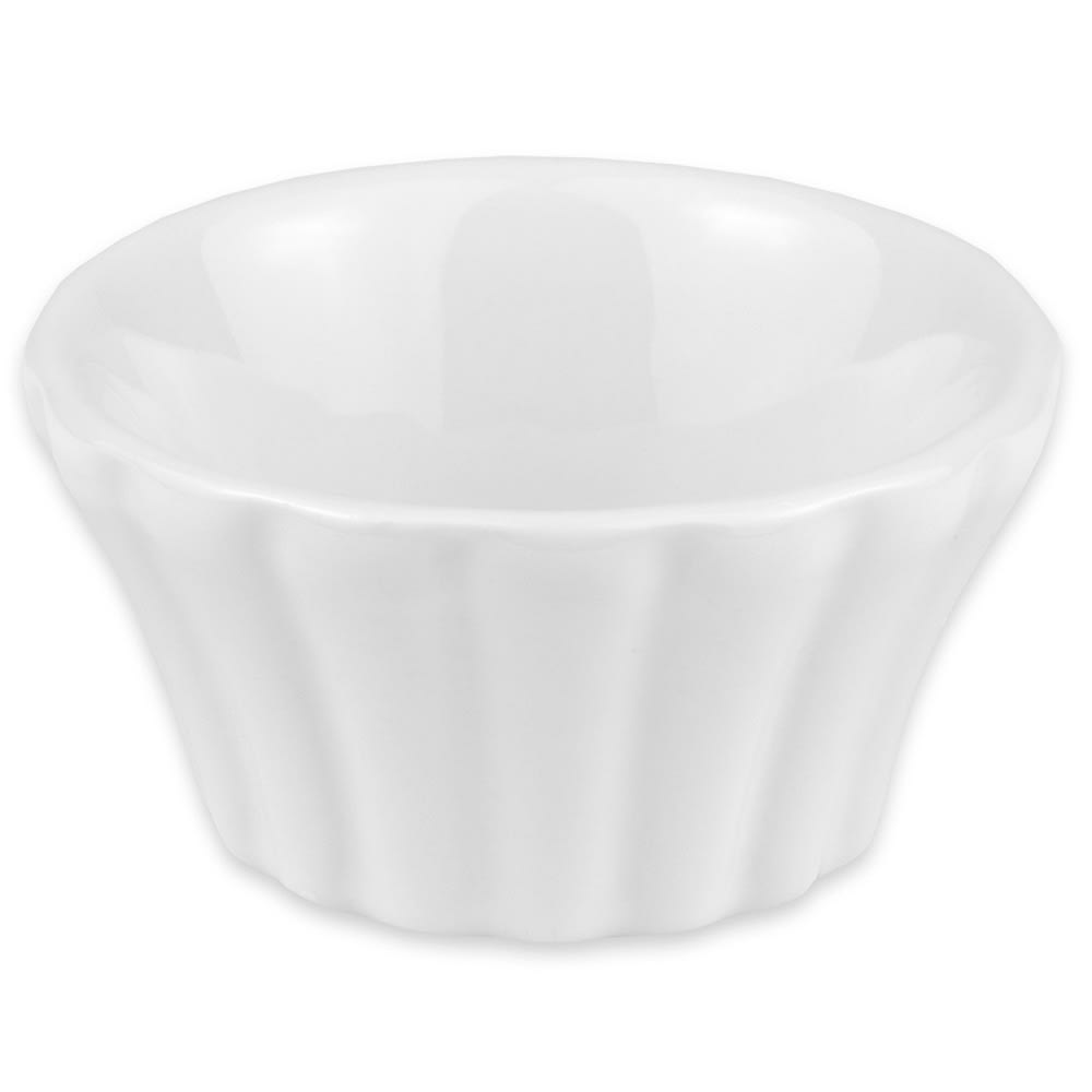 "Hall China 8290ABWA 2.3125"" Round Ramekin w/ 2-oz Capacity, White"