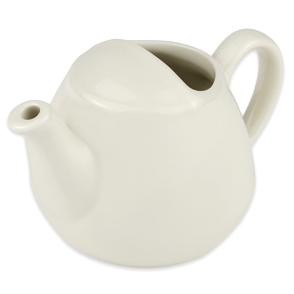 Hall China 820AWHA 16 oz Teapot, White
