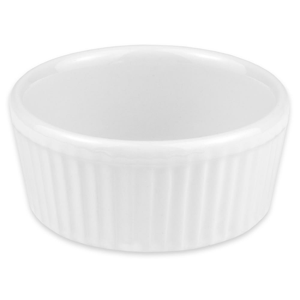 "Hall China 8350ABWA 3.5"" Round Ramekin w/ 4.5-oz Capacity, White"
