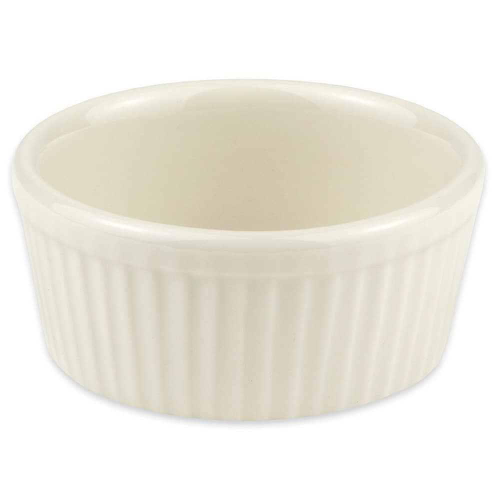 "Hall China 8350AWHA 3.5"" Round Ramekin w/ 4.5-oz Capacity, White"