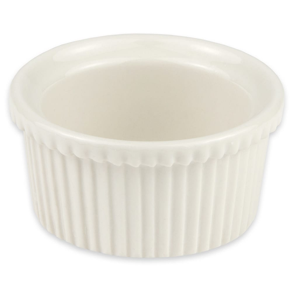 "Hall China 8370AWHA 2.625"" Round Ramekin w/ 2-oz Capacity, White"