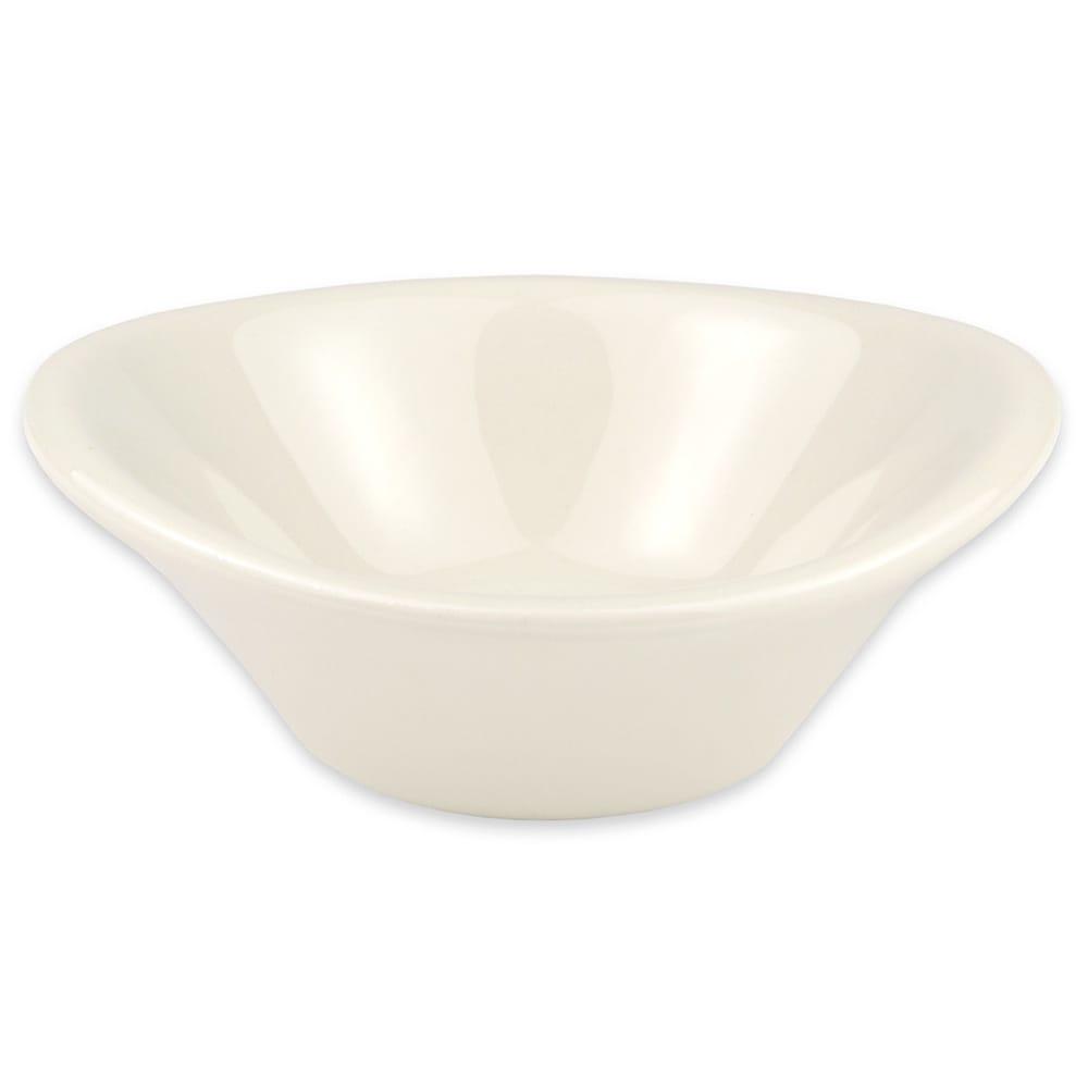 """Hall China 9170AWHA 3.5"""" Round Butter Dish w/ 1.5-oz Capacity, White"""
