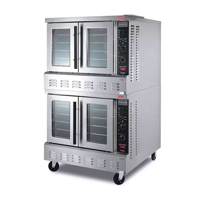 Lang GCOF-AP2 Double Full Size Gas Convection Oven - LP