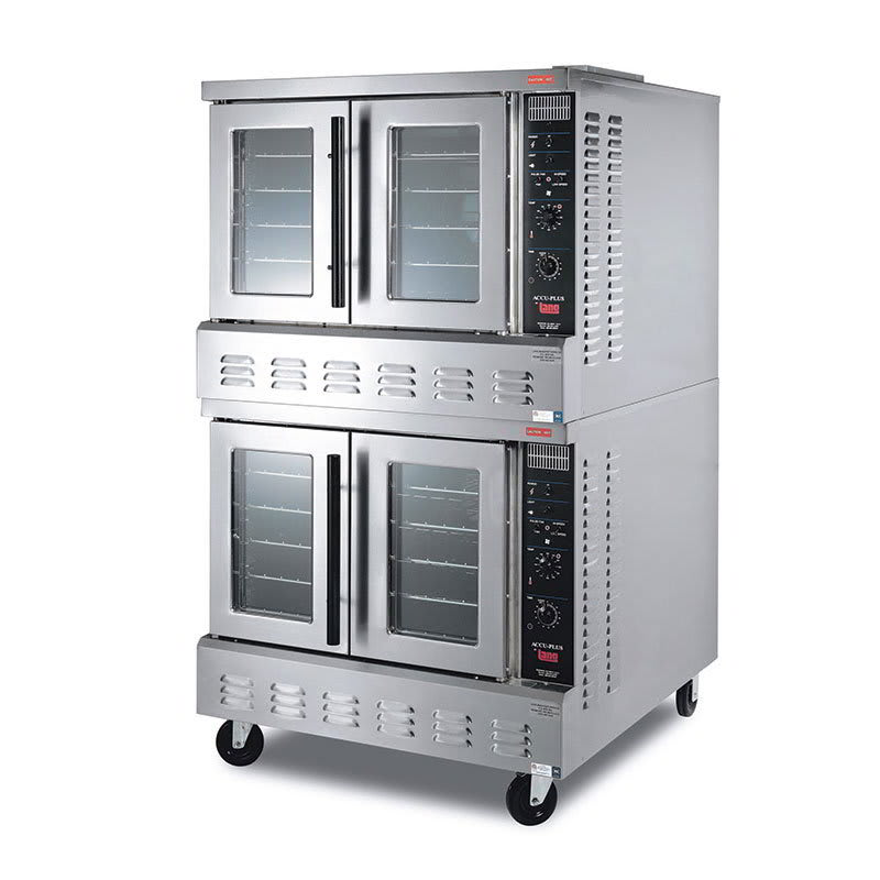 Lang GCOF-AP2 Double Full Size Gas Convection Oven - NG