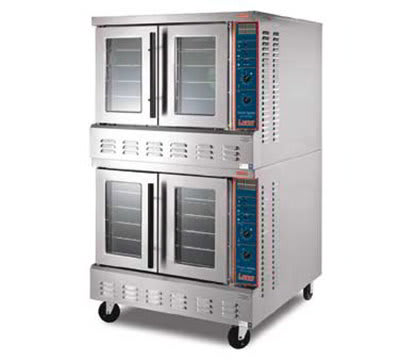 Lang GCOF-T2 Double Full Size Gas Convection Oven - NG