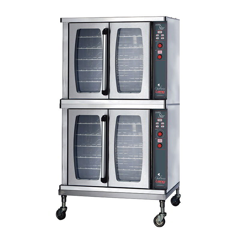 Lang GCSF-ES2 Double Full Size Gas Convection Oven - NG