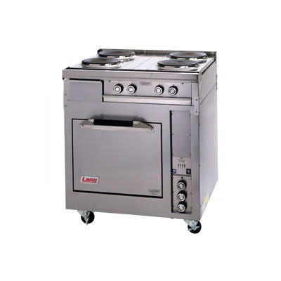"Lang R30S-ATA 30"" 4-Sealed Element Electric Range, 240v/3ph"