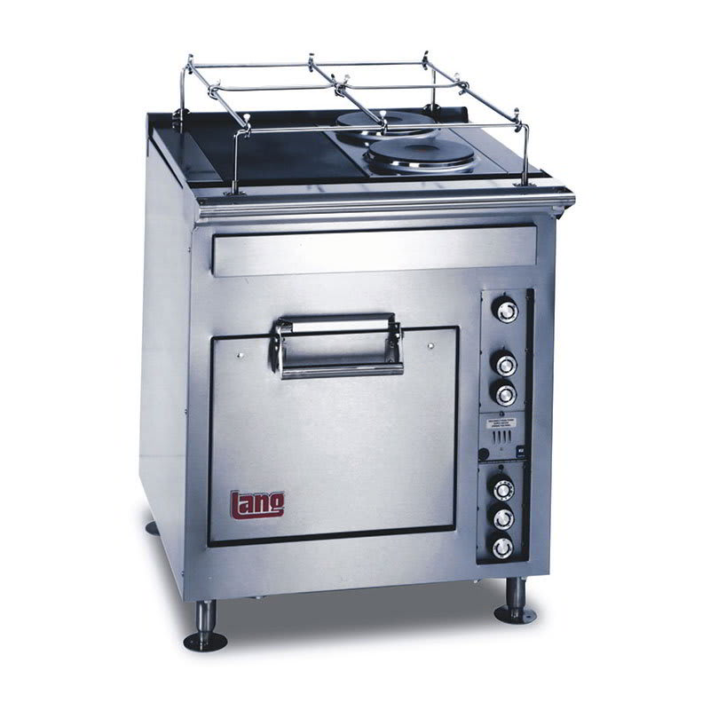 "Lang R30S-ATAM 30"" 4-Sealed Element Electric Range, 208v/3ph"