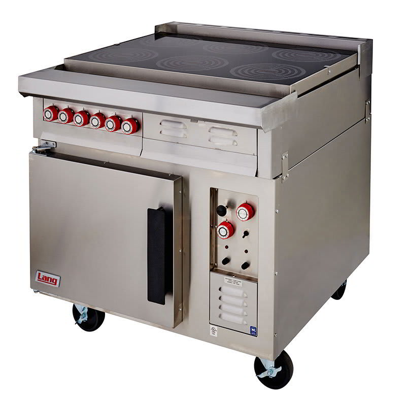 Lang RI36C-ATE 2081 Floor Model Commercial Induction Range, 208v/1ph
