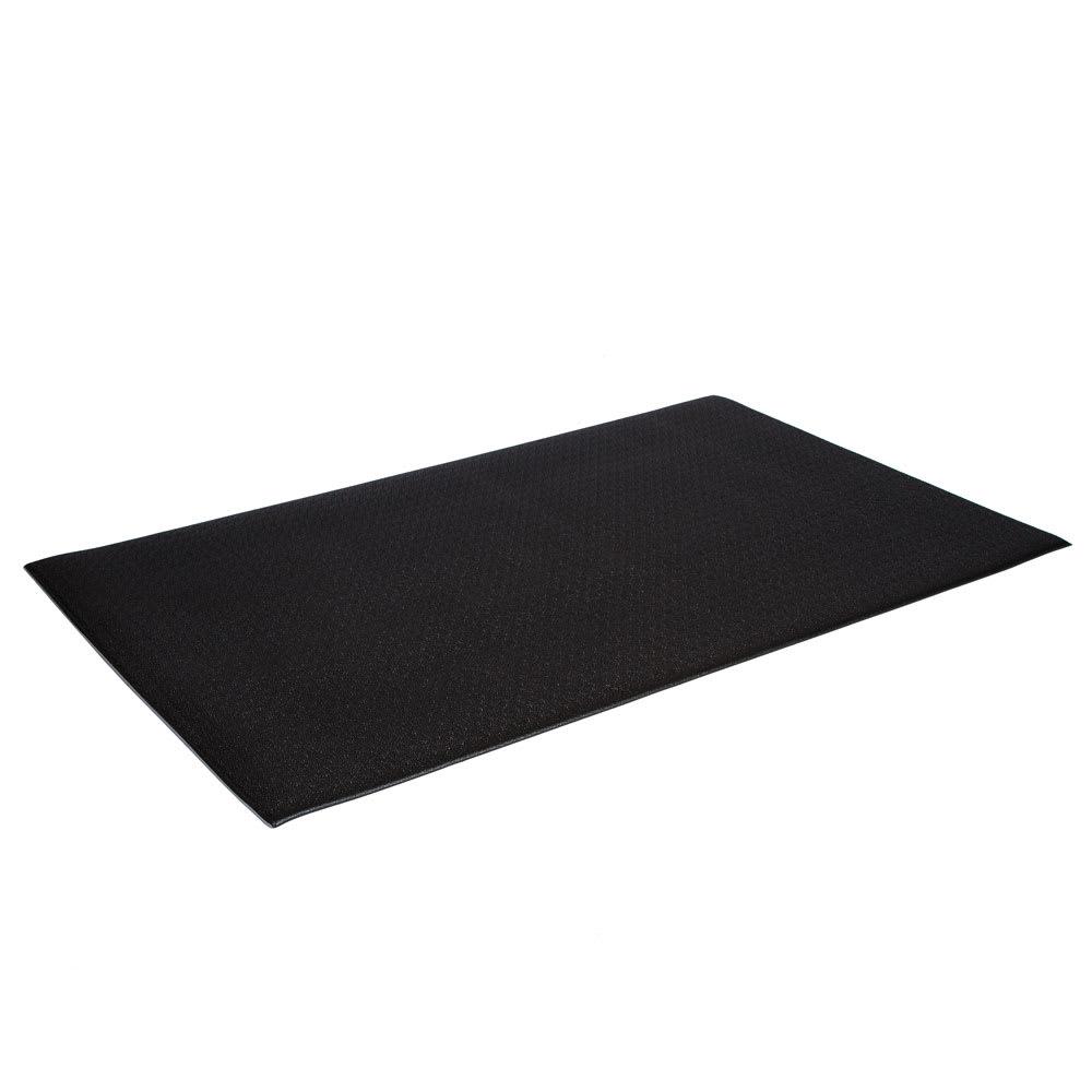 "Crown FP3660BK Tuff-Spun Foot Lover Mat, 36 x 60"", 3/8"" Thick, Black"