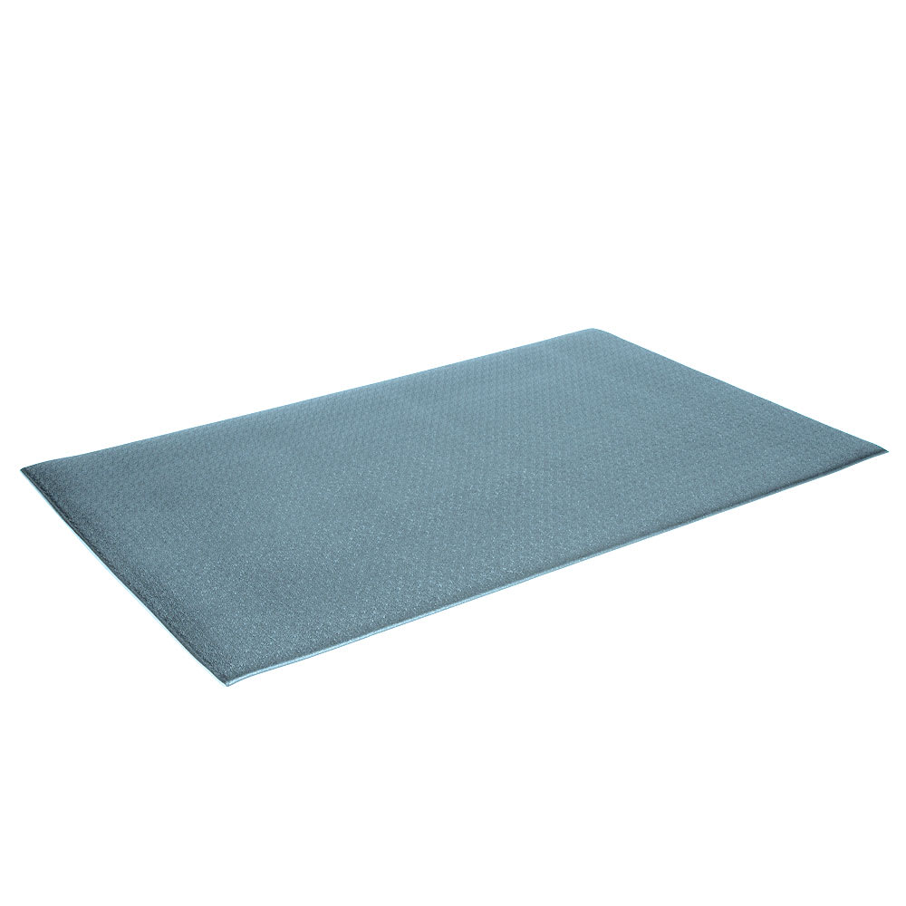 """Crown FP3660GY Tuff-Spun Foot Lover Mat, 36 x 60"""", 3/8"""" Thick, Gray"""