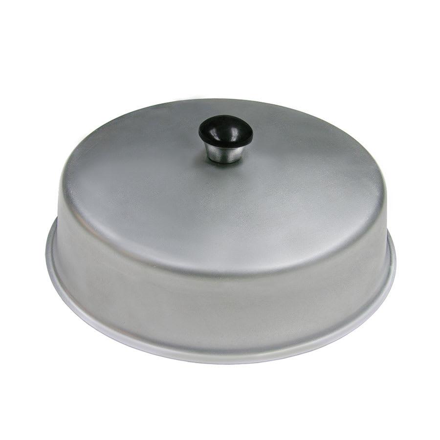 """Update ABC-08 8"""" Round Basting Cover - Aluminum"""